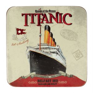 Titanic Belfast 1912 Collectors Drinks Coaster (sg)